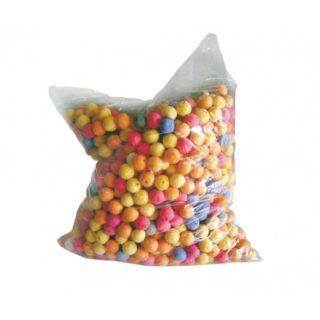 200 boules multicolores