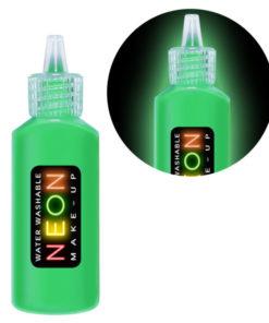 maquillage fluo vert