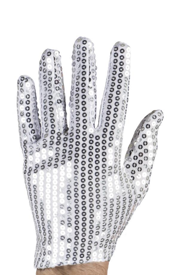 gants argentés