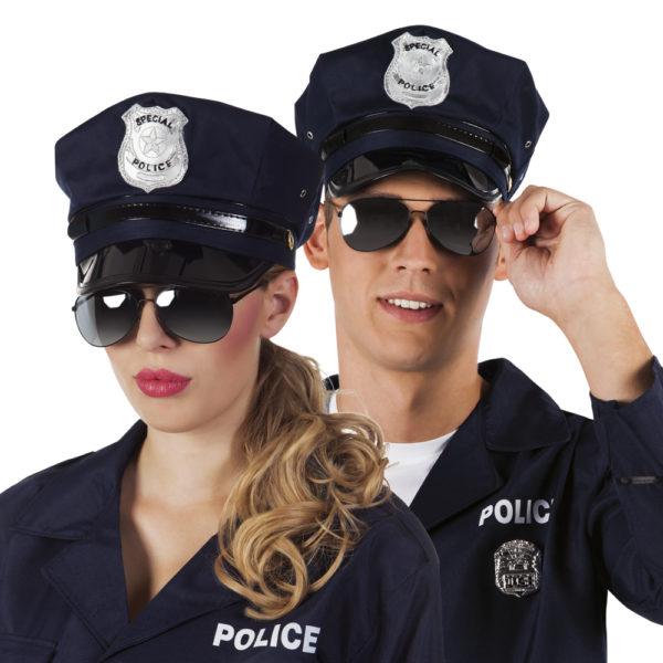 Lunettes police noires - Cameleon 0e50985b4cac