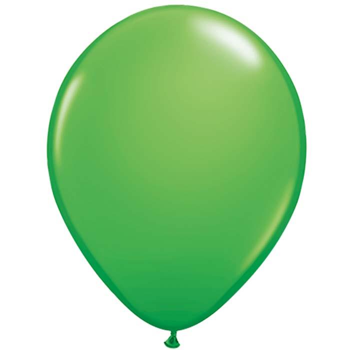 ballon vert foncés