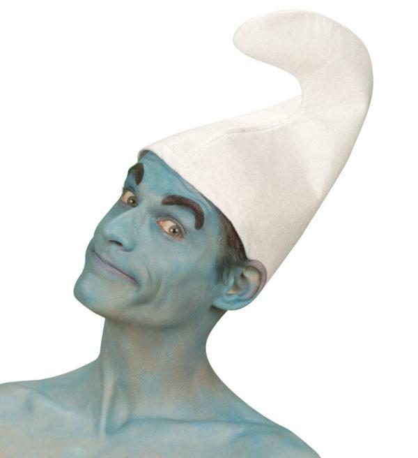 chapeau blanc de 30 cm